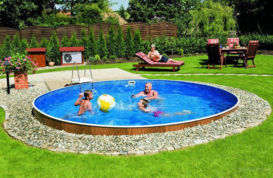 Сборный наземный бассейн Mountfield Azuro De Luxe 402DL(4,6м \ 20000л)