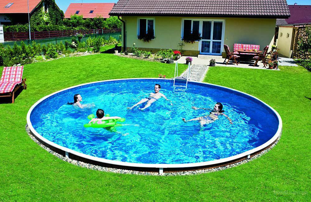 Сборный наземный бассейн Mountfield Azuro De Luxe 403DL(5,5м \ 28000л)