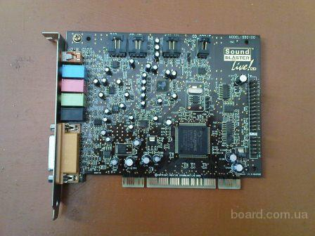 Продам рабочую Creative Labs sound blaster SB0100