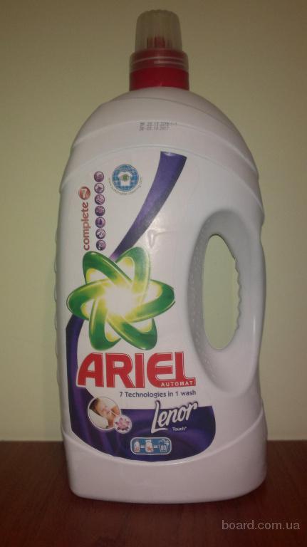 Ариель Ariel+Ленор порошок гель 5.6л !оригинал!