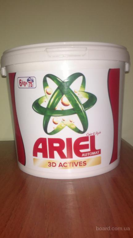 Стиральный порошок Ариель Ariel ведро 6 кг