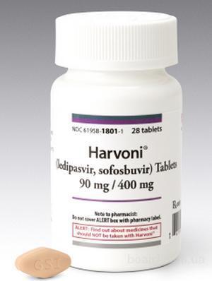 Харвони (Harvoni) от гепатита С по доступной цене