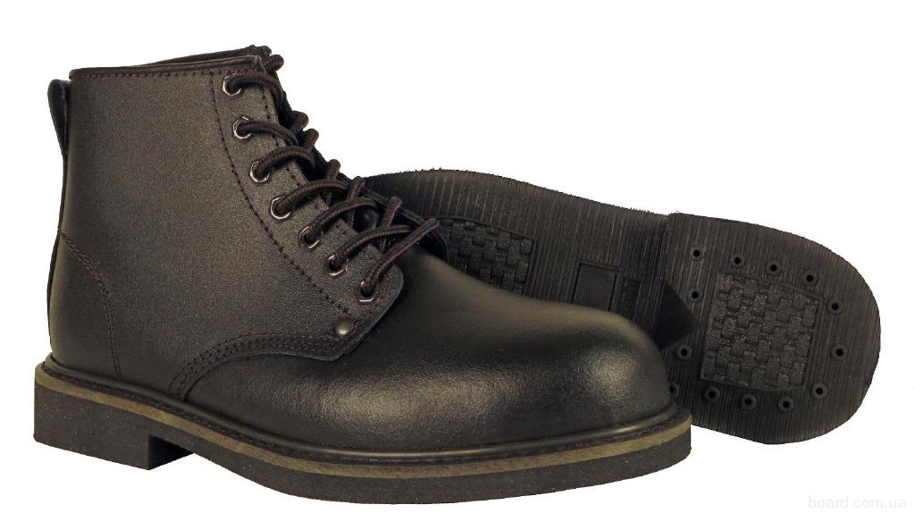 Ботинки кожаные водостойкие  Work Boot (Б – 259) 48 - 49 размер