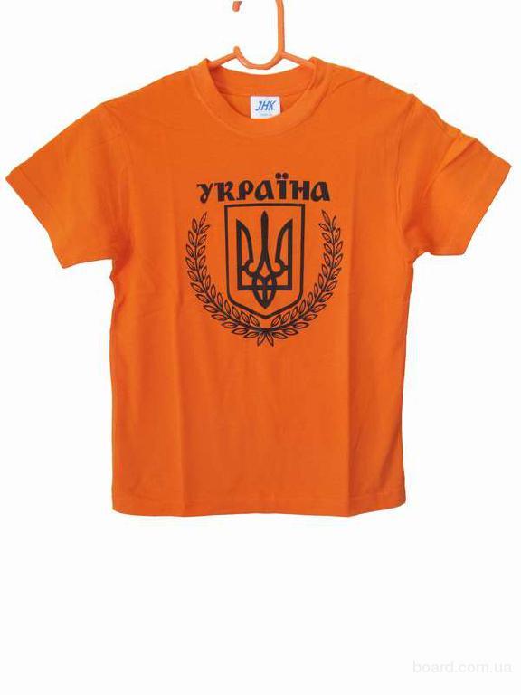 """Футболка """"Україна"""" підліткова"""