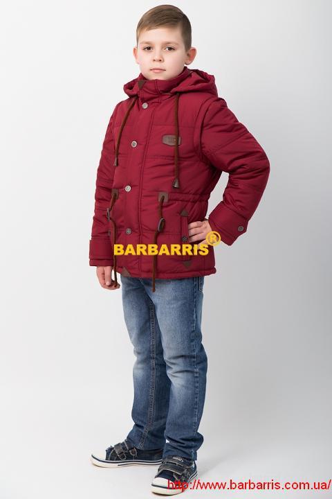 Детские куртки от TM Barbarris оптом