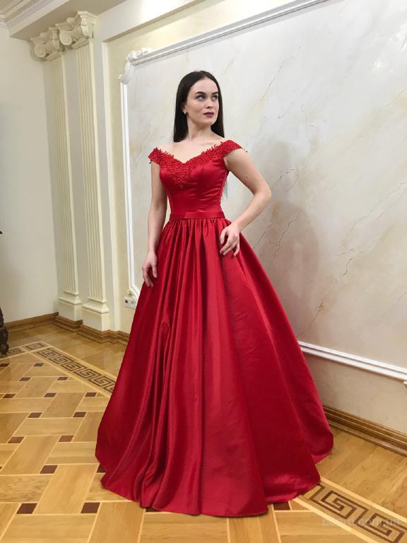 Красные вечерние платья купить в интернет-магазине в Киеве