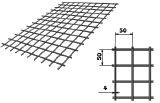 Сетка кладочная ВР 3 и 4 (50х50)