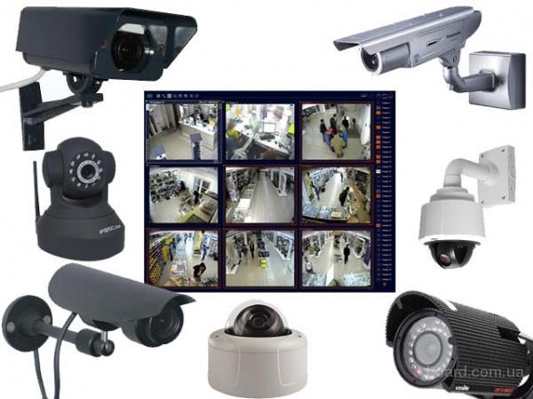 Установка и обслуживание систем видеонаблюдения. Низкие цены