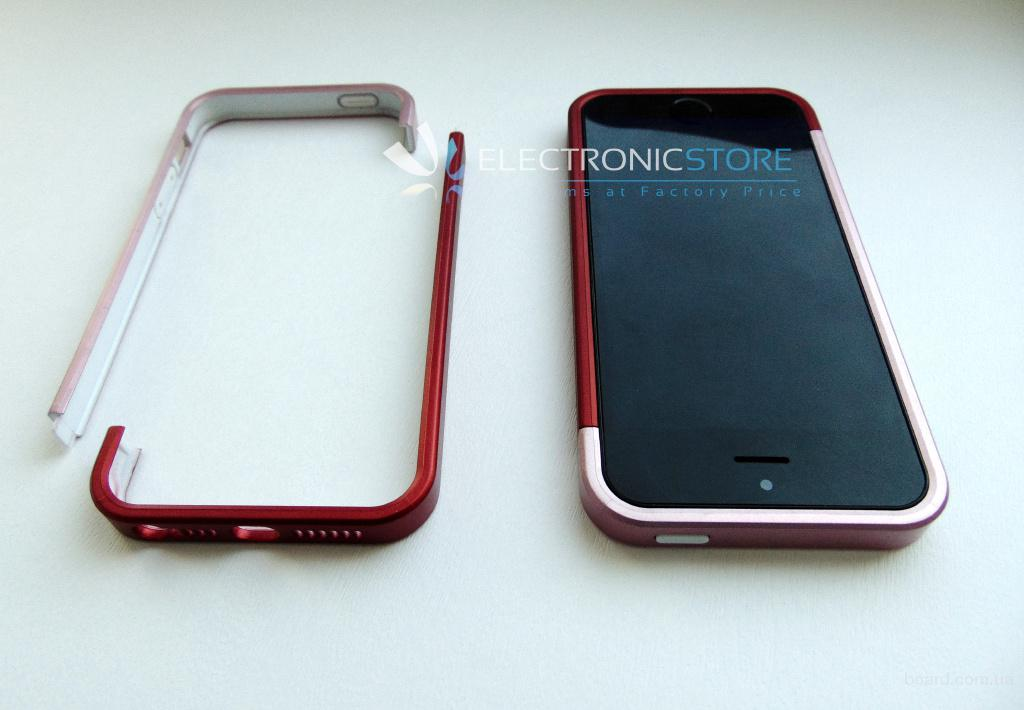 Полеуретановый бампер для Iphone 5 - 5S