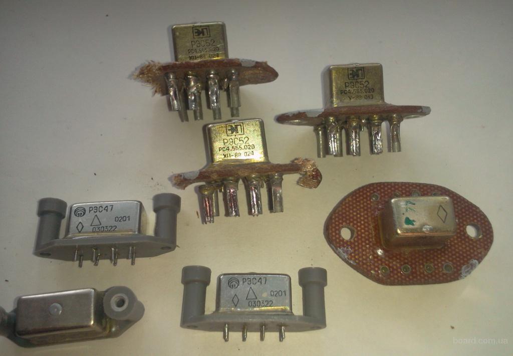 Продам демонтаж РЭС-47 (п.0201), РЭС-52 (п.020), РЭН-35 (0101,0301)