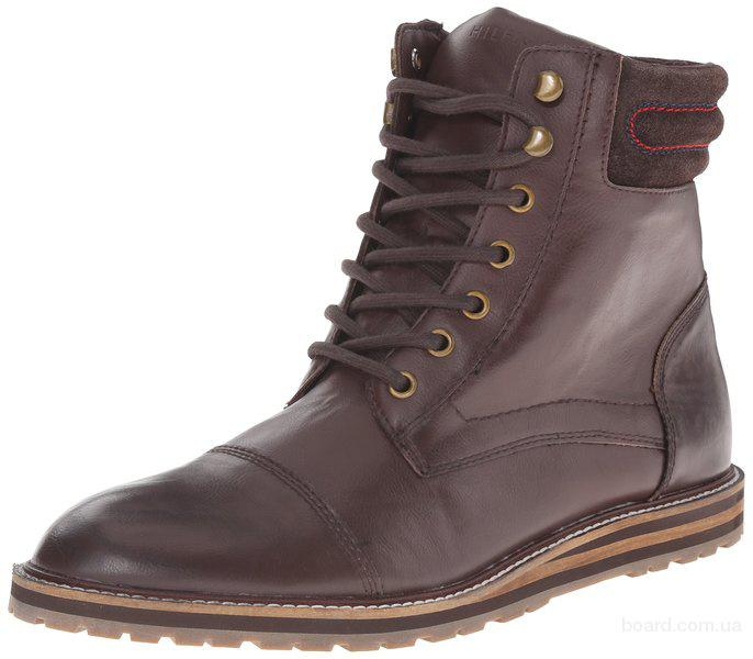 Мужские ботинки Tommy Hilfiger, кожа, размер 43-44