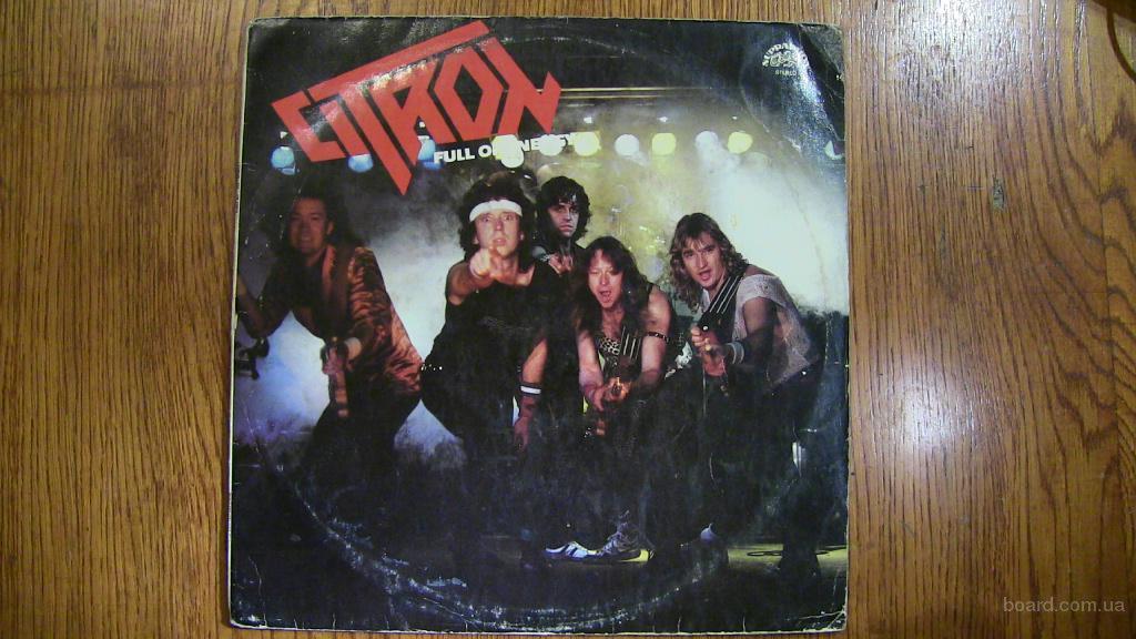 Вин. пластинка Citron - Full of energy Чехославакия 1986