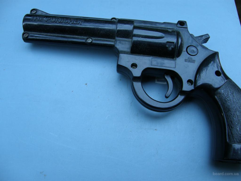Револьвер-игрушка детская оптическая The punisher