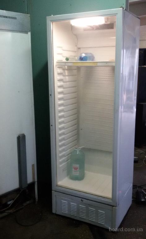 Продам бу холодильный шкаф со стеклянной дверью
