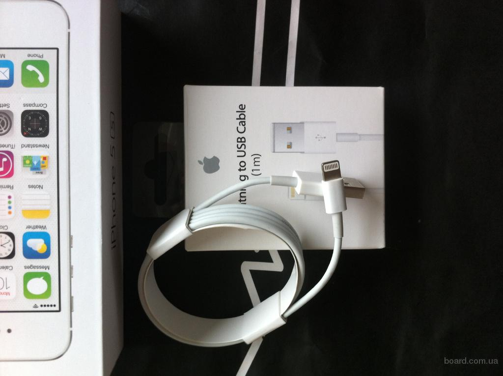 Apple Lightning кабель для iPhone, iPad, iPod 100% original