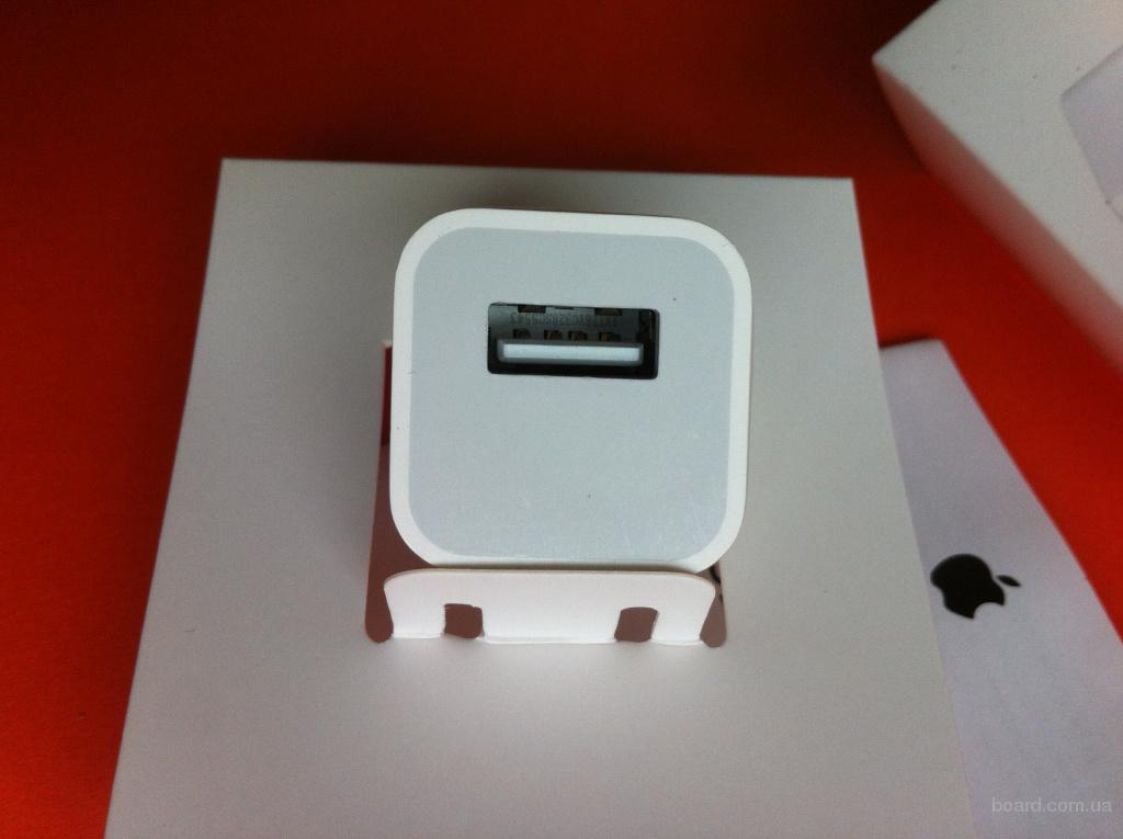 Зарядка iPhone 4/4s/5/5s/6 СЗУ зарядной блочек кубик айфон 5