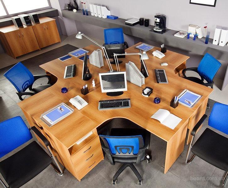 Изготовление офисной мебели в Днепропетровске (Mebelluxe)