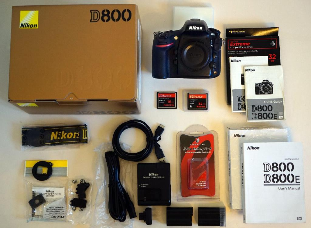 Nikon D800 Digital Camera (black)