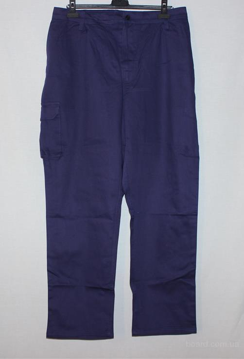 Качественные рабочие брюки (XL, 100% хлопок)