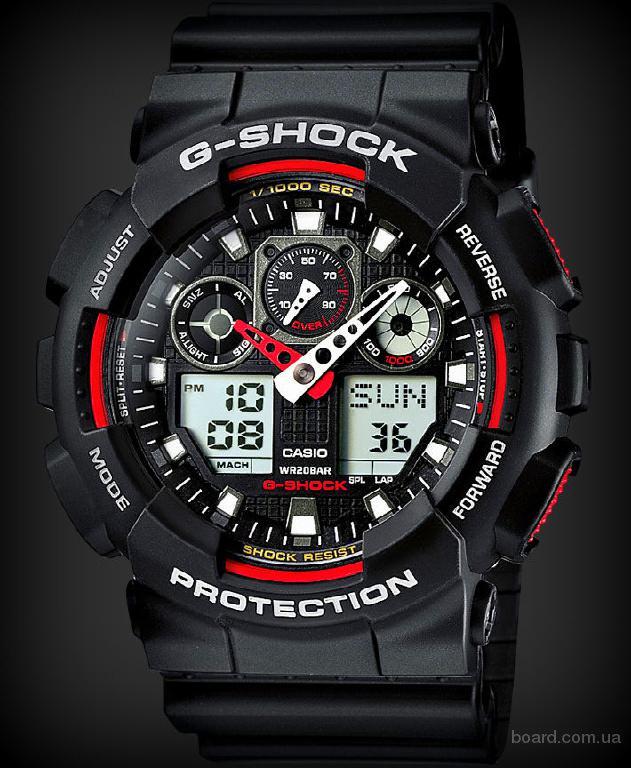 Распродажа часов casio g-shock ga-100!