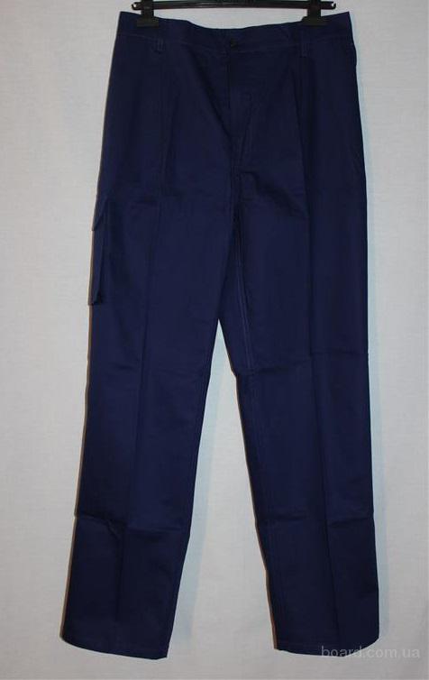 Качественные рабочие брюки (XL, темно синие)