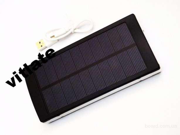 Солнечное зарядное устройство Power Bank 25000 mAh