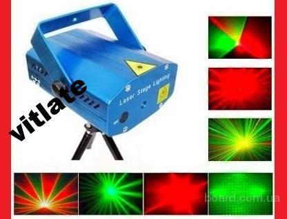 Лазерный проектор, стробоскоп лазер