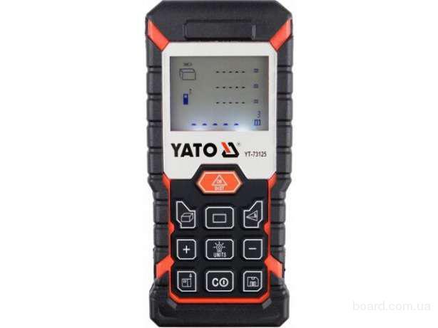 Лазерный дальномер 40м Yato YT-73125