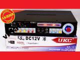 Усилитель звука UKC AK-123 2x150W Bluetoth Караоке