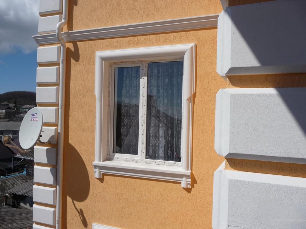 Декоры из пенопласта на окна
