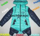 Куртка на девочку демесезонная париж