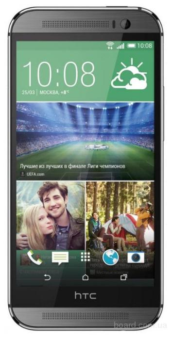 HTC One M8 32Gb (1920x1080, 3G, 4G LTE, экран 5)