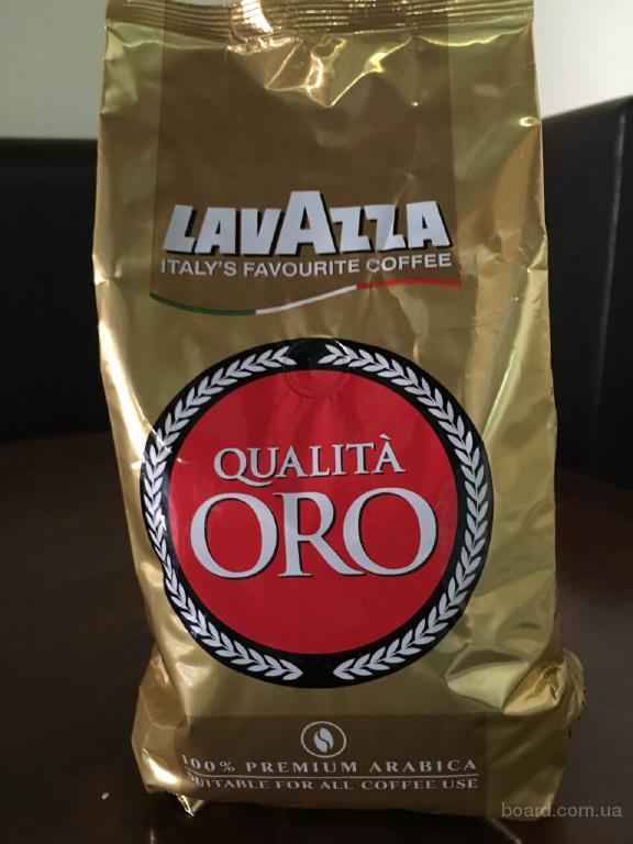 Кофе в зёрнах Lavazza Oro