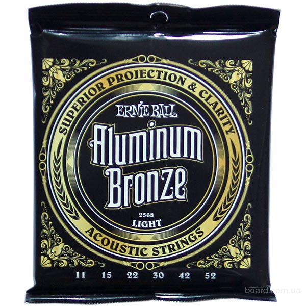 Струны Ernie Ball Aluminum Bronze 2568 Light 11-52