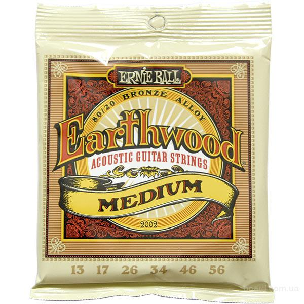 Струны Ernie Ball Earthwood 2002 Bronze Alloy 13-56
