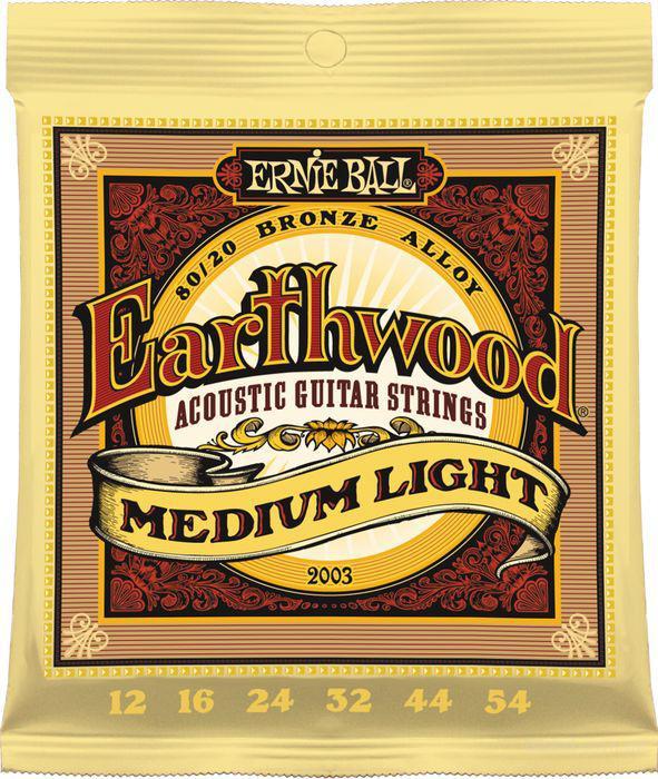 Струны Ernie Ball Earthwood 2003 Bronze Alloy 12-54