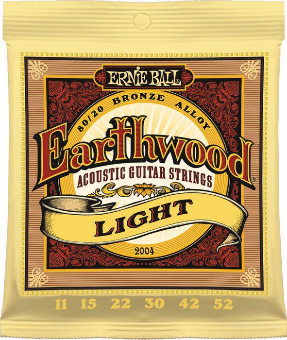 Струны Ernie Ball Earthwood 2004 Bronze Alloy 11-52
