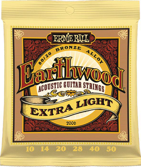 Струны Ernie Ball Earthwood 2006 Bronze Alloy 10-50