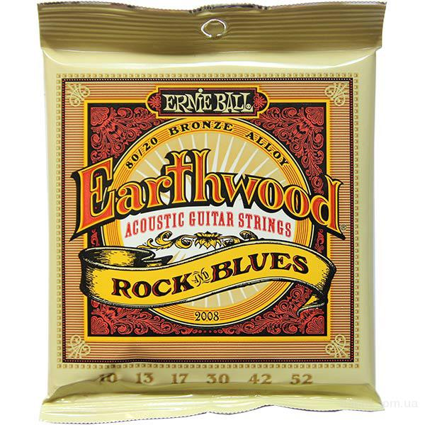 Струны Ernie Ball Earthwood 2008 Bronze Alloy 10-52
