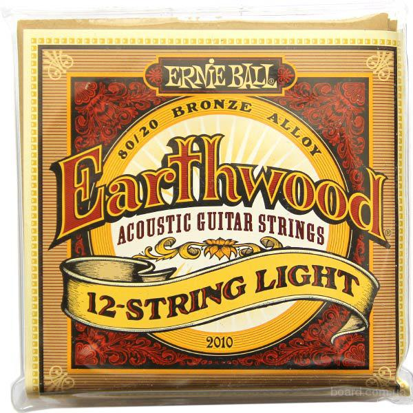Струны Ernie Ball Earthwood 2010 Bronze Alloy 12-String 9-46