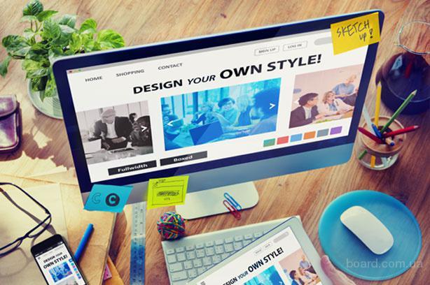 Создание сайтов. Сайт визитка, Landing page, Интернет-магазин
