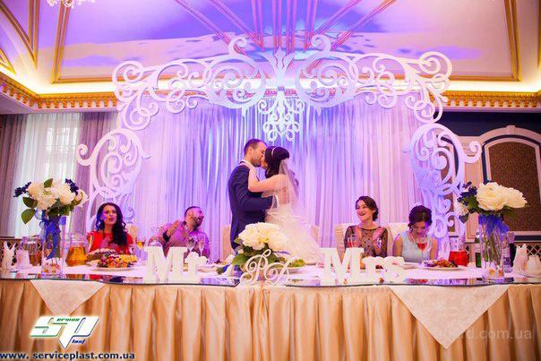 Свадебная атрибутика, свадебные декорации, свадебные аксессуары под заказ