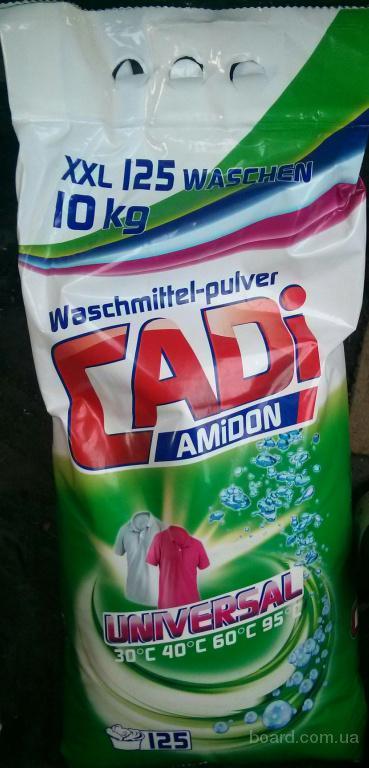 Порошок стиральный Cadi 125 стирок 10 кг Доставка бесплатная