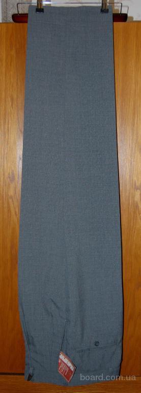 классические мужские новые брюки серые 48-50 размер производства Россия.