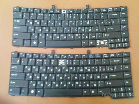 Продам рабочие клавиатуры для ноутбука Aser