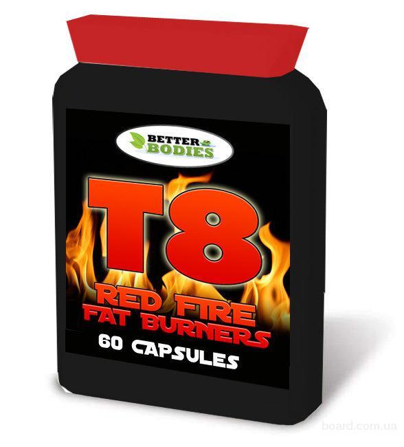 Мощный Жиросжигатель для быстрого похудения на 15 кг. T8 RED FIRE купить в Украине