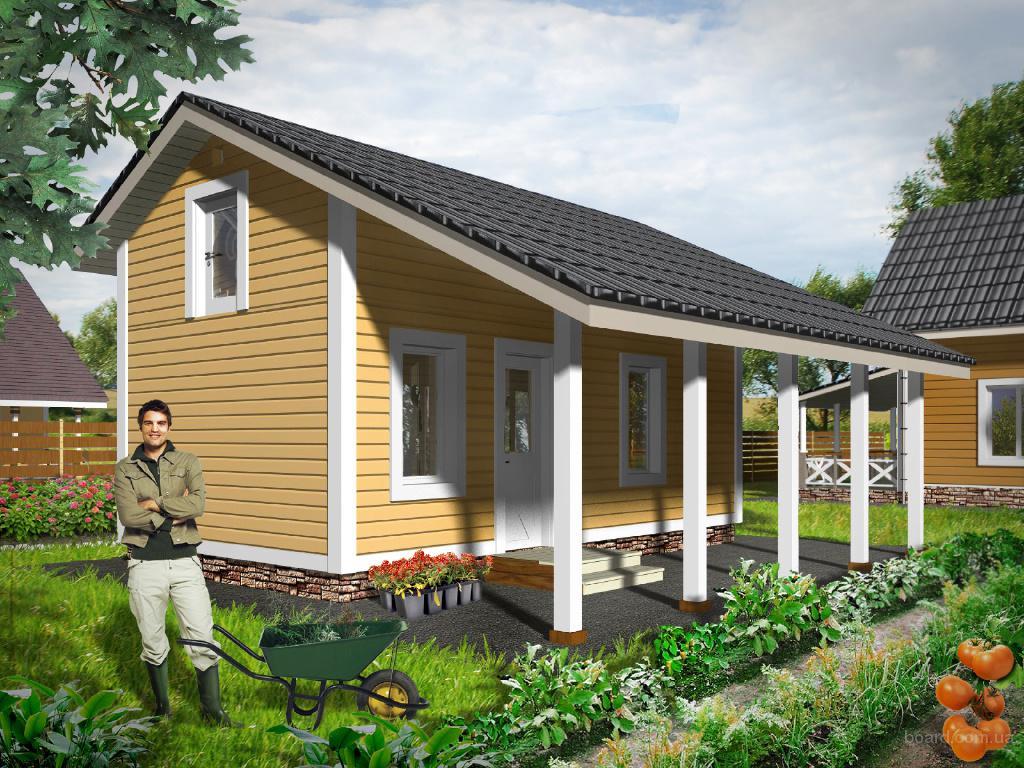 Типовые проекты маленьких частных домов до 100 кв м от Akvilonpro™