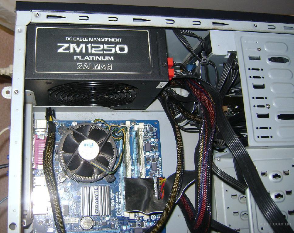 Блок питания 1250W Zalman ZM1250 Platinum 80+