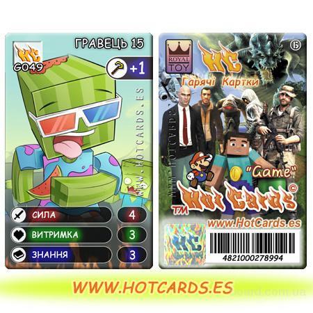 Игровые Карточки Hot Kards