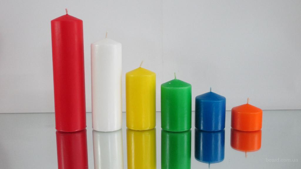 Свеча классическая диаметр 80 высота 130